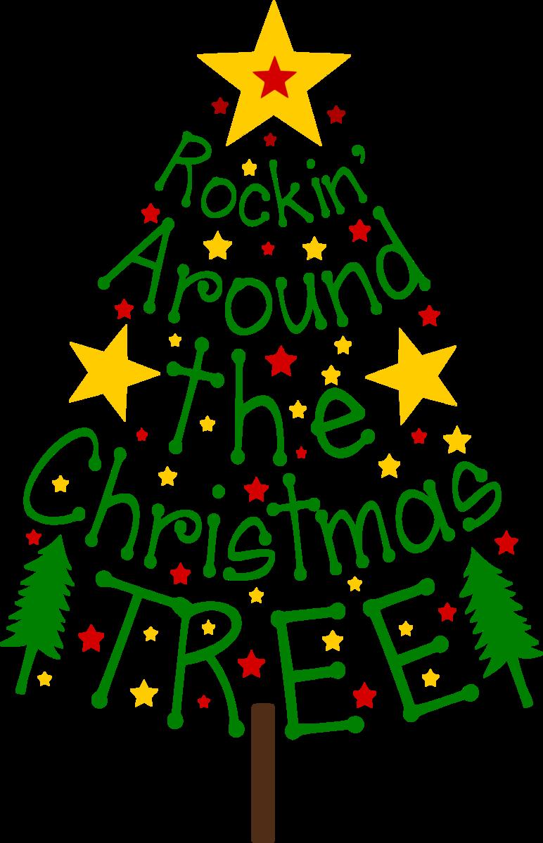 Rockin around the christmas tree.