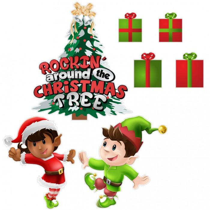 rockin around the christmas tree clipart 20 free Cliparts ...