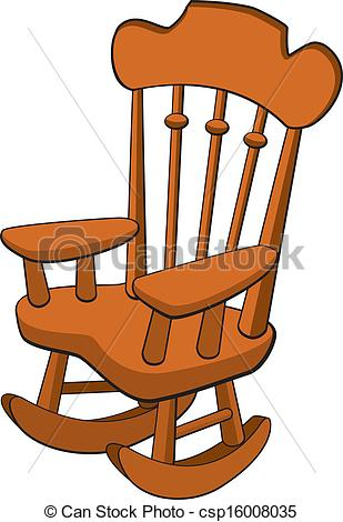 Rocking chair Clipart and Stock Illustrations. 934 Rocking chair.