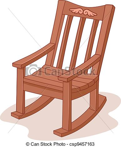 Rocking chairs clipart #3