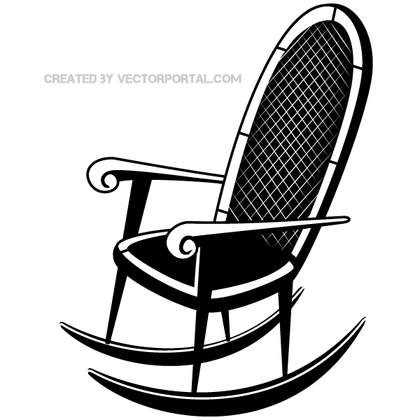 Rocking Chair Clip Art.