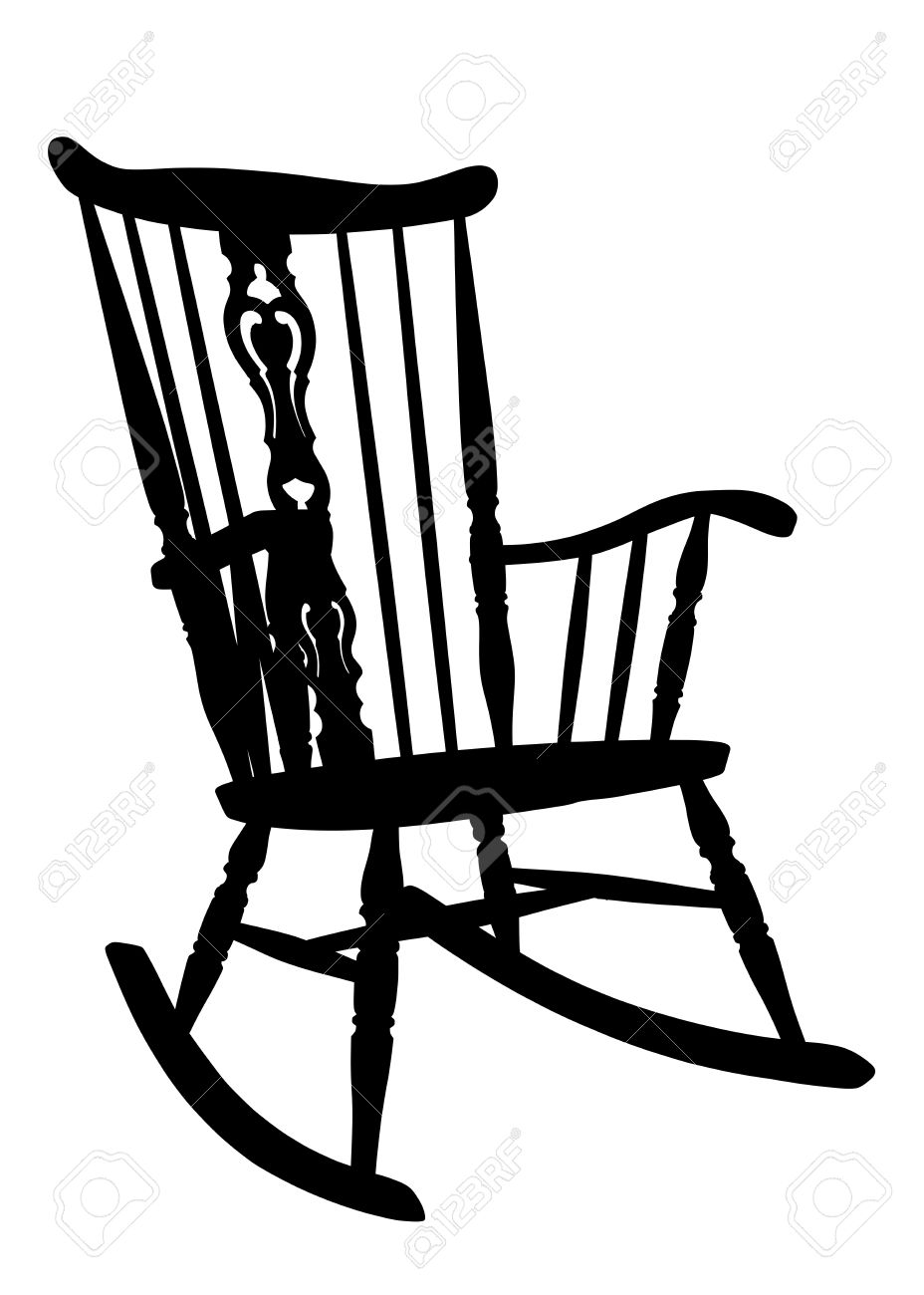 Rocking Chair Clip Art ~ Rocking chairs clipart clipground