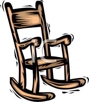 Rocking Chair Clipart Black And White.