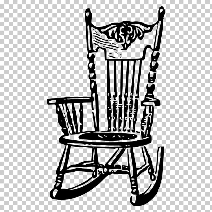 Rocking Chairs Furniture, chair PNG clipart.