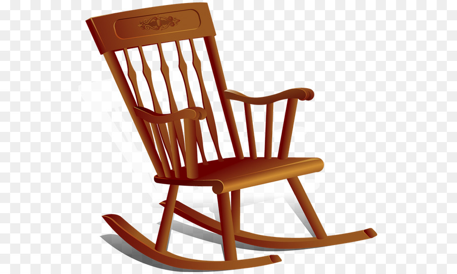 Rocking Chairs Chair png download.