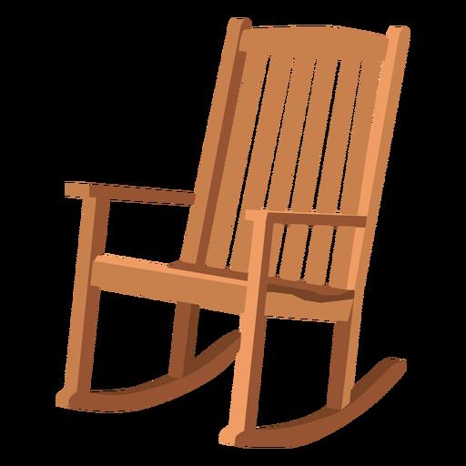 Adirondack rocking chair.