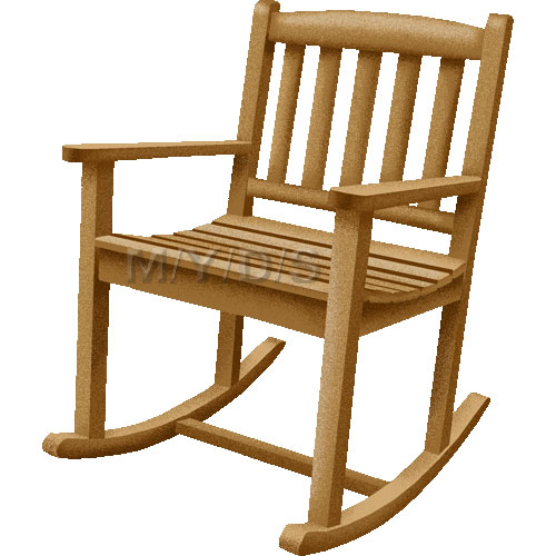 Rocking Chair, Rocker clipart / Free clip art.