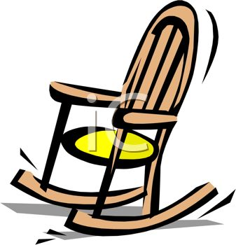 Free clipart rocking chair.