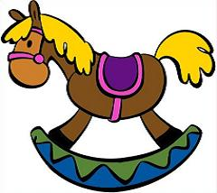 Free Rocking Horse Clipart.