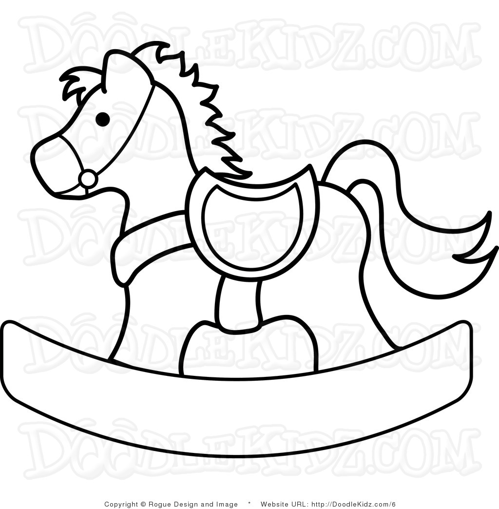 Rocking Horse Image Clipart.