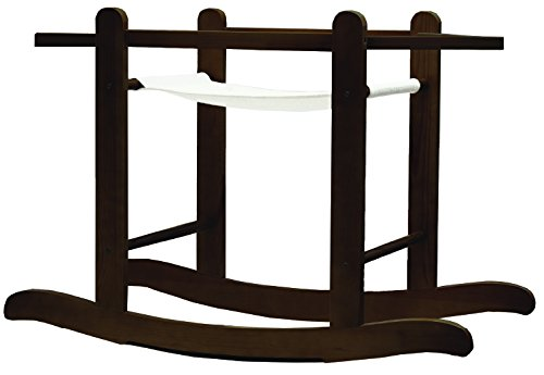 Kinder Valley Little Gem Moses Basket Rocking Stand (White.