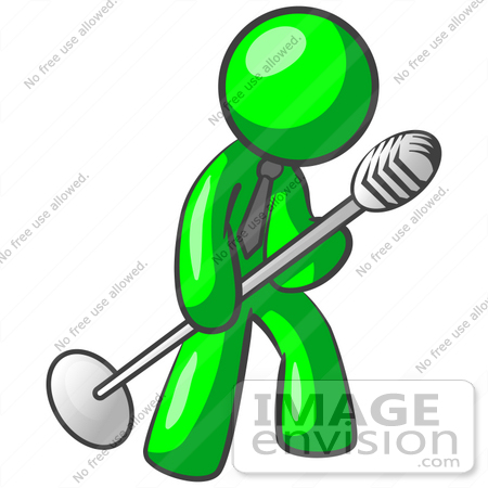 Microphone Stand Clip Art.