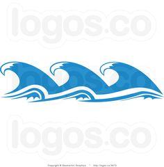 pinterest cartoon ocean waves.