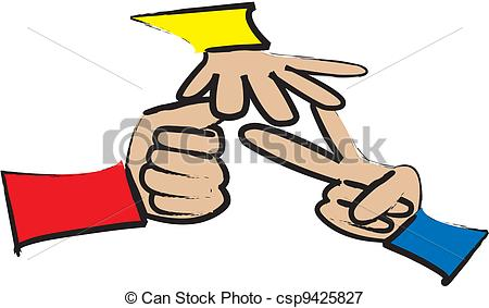 Rock paper scissors Clipart and Stock Illustrations. 168 Rock.