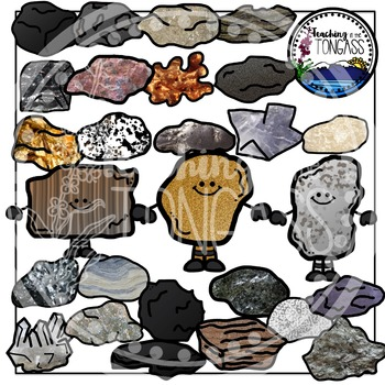 Rocks Clipart and Minerals Clipart.
