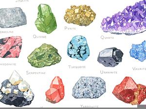 Clipart Rocks Minerals.