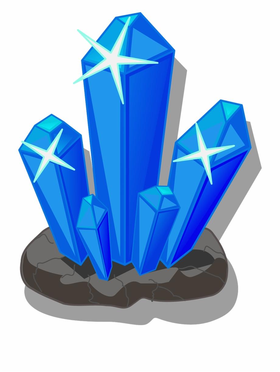 Crystals Minerals Salt Png Image.
