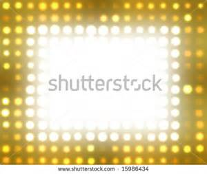 Broadway Lights Clip Art Gold star clipart hollywood rocks theme.