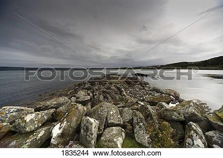 Stock Photo of Rocks on the shore 1835244.