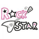 Rock Star Guitar Clip Art.