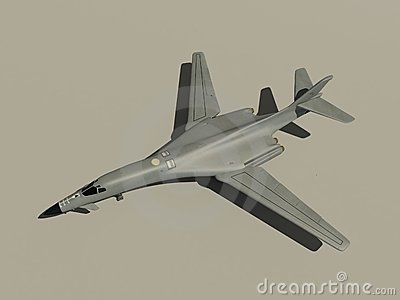 Rockwell B1 Lancer Royalty Free Stock Images.