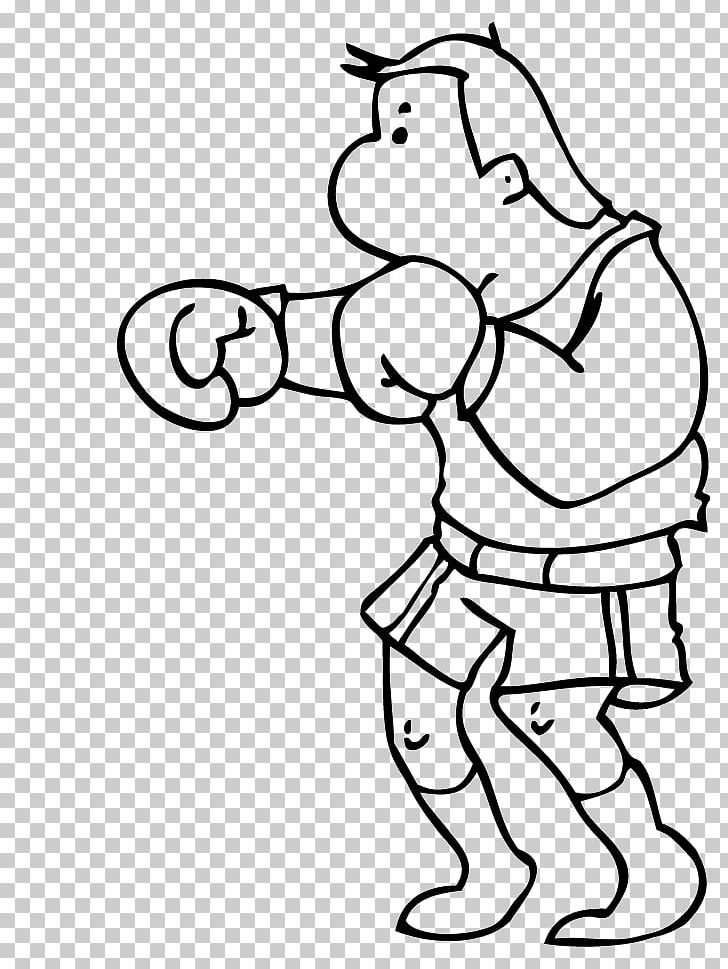 Goofy Rocky Balboa Boxing Black And White PNG, Clipart, Area.