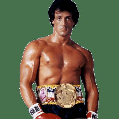 Sylvester Stallone Rocky.