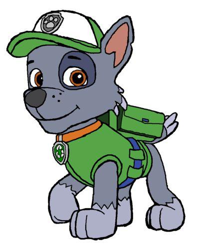 Rocky paw patrol clipart.