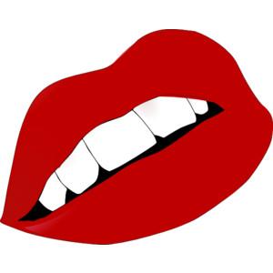 Rocky Horror Lips Clip Art.