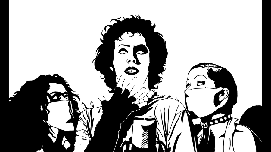 Rocky Horror Picture Show Clipart.
