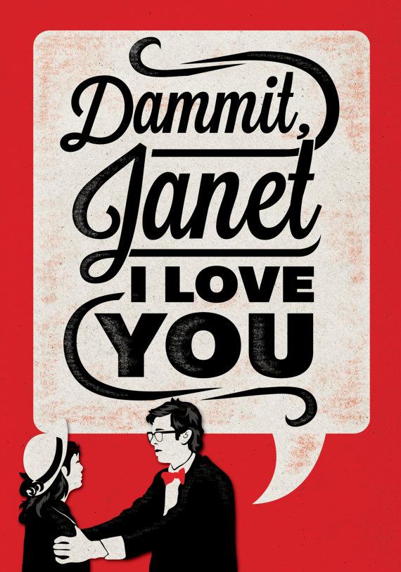 Dammit, Janet.