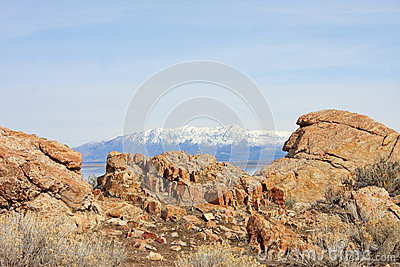 Rocky Outcrop Island. Stock Photography.