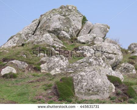 Granite Outcrop Stock Photos, Royalty.