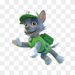 Free Paw Patrol Rocky PNG Images.
