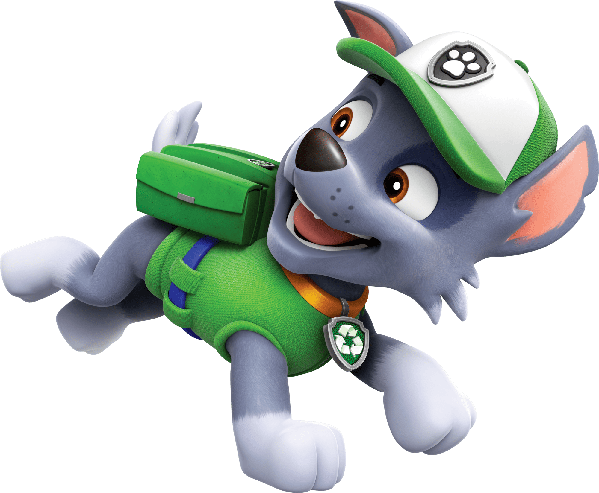 Rocky Running Paw Patrol Clipart Png.