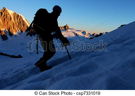 Stock Photographs of Mountain sport.