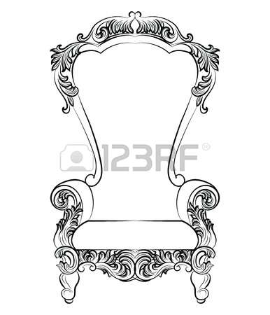 274 Rococo Chair Stock Vector Illustration And Royalty Free Rococo.
