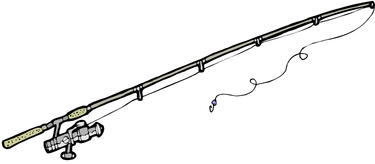 Bent Fishing Pole.