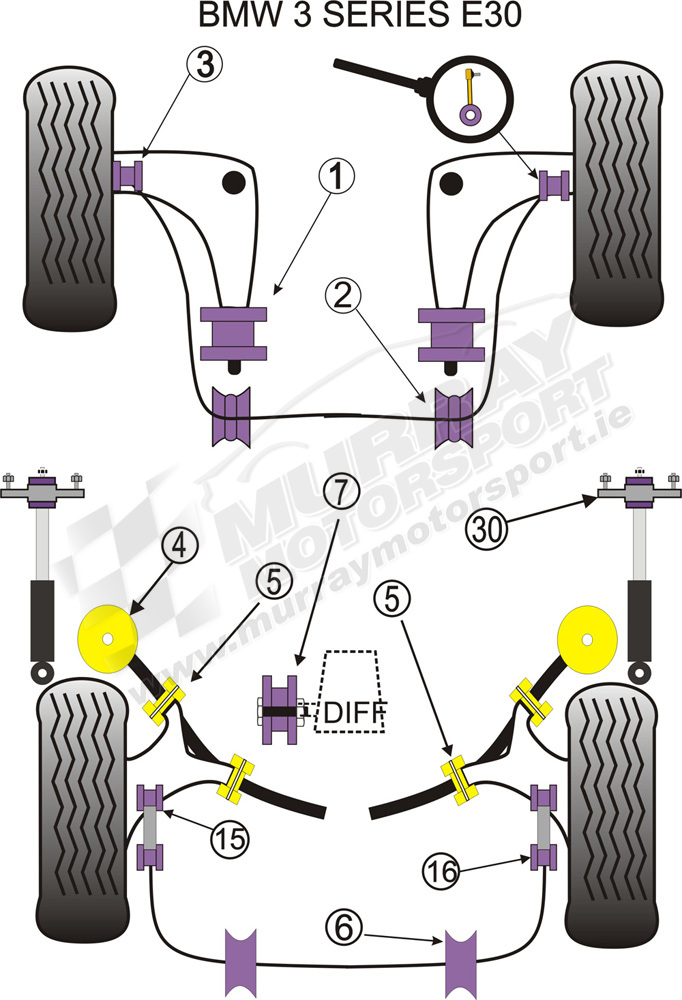 Powerflex Powerflex Anti Roll Bar L.