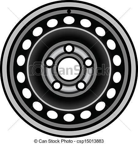 Clip Art Wheel Rim Clipart.