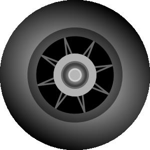 Bsantos Inline Skate Wheel Clip Art at Clker.com.
