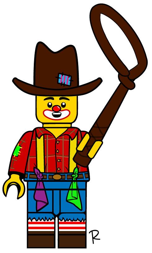 Rodeo Clown.