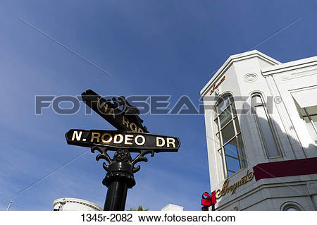Stock Photo of USA, California, Los Angeles, Beverly Hills, Rodeo.