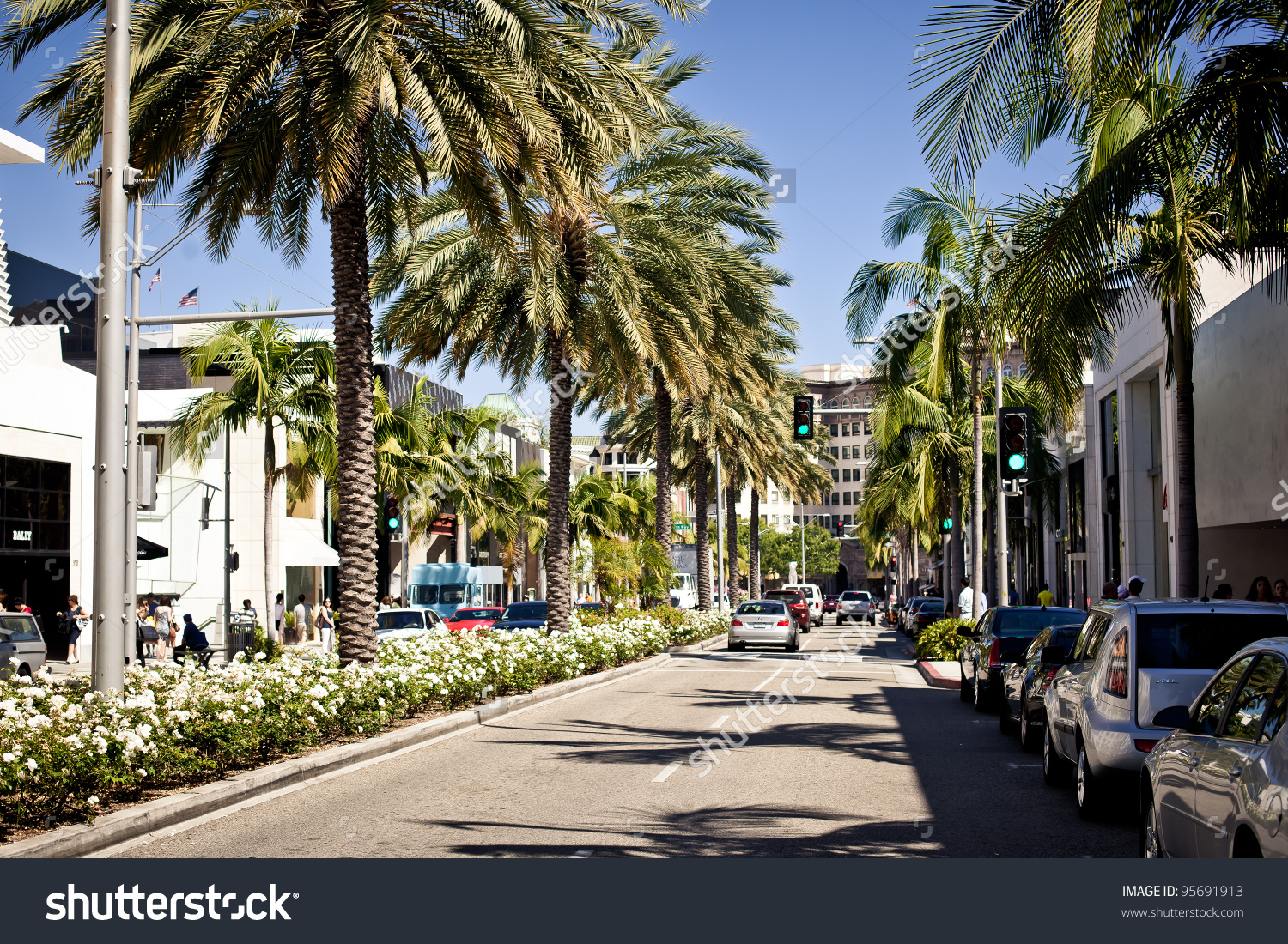 Beverly Hills Usa July 17 View Stock Photo 95691913.