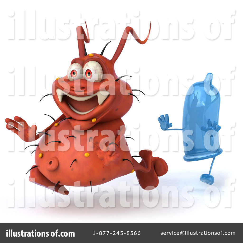 Rodney Germ Character Clipart #98396.