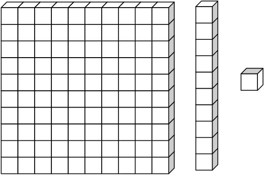 Tens rods clipart.