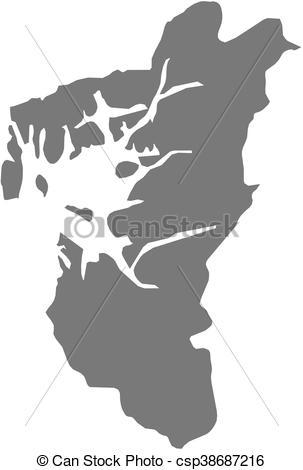 Vector Clip Art of Map.