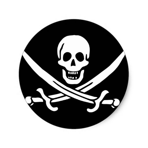 Free Jolly Roger Clipart Image.