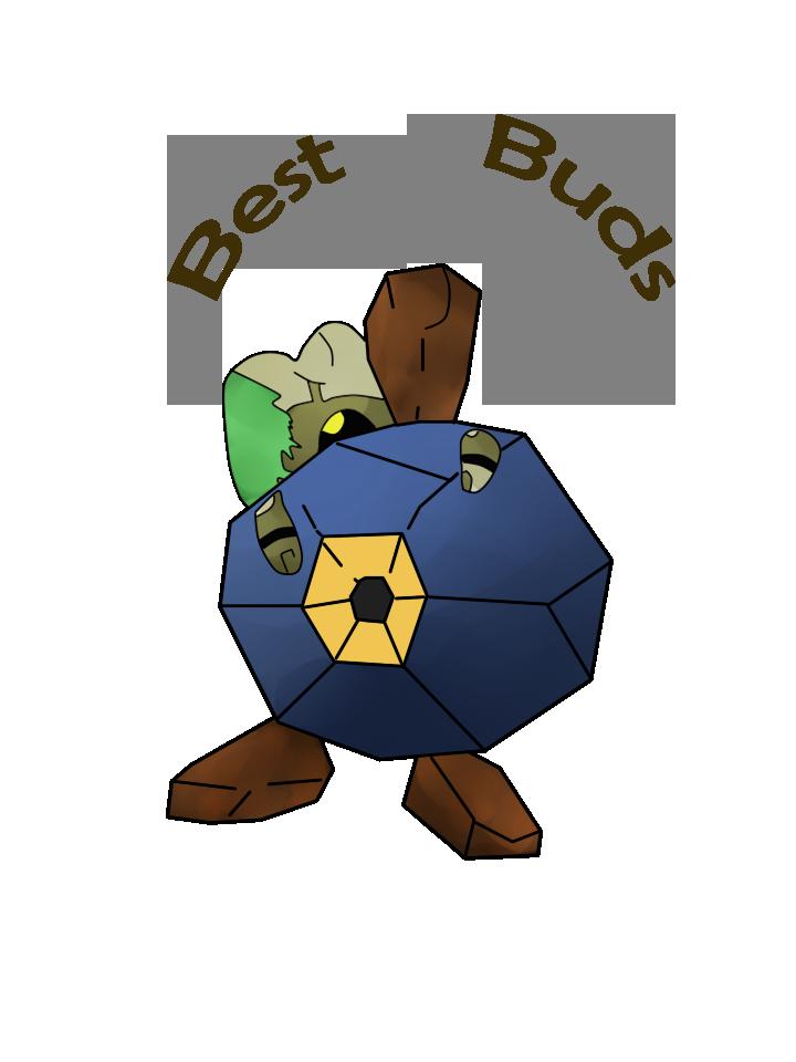 Roggenrola and Fragmoss (Best Buds) by traein on DeviantArt.