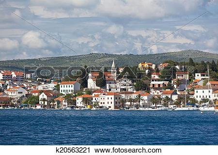 Stock Photography of Rogoznica, Croatia view k20563221.